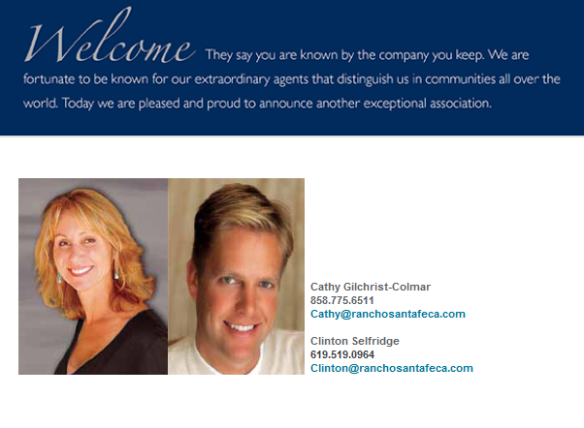 Welcome Cathy Gilchrist-Colmar and Clinton Selfridge